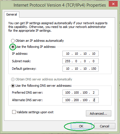 how to get ip address of pc