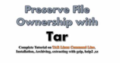 tar-preserve file ownership